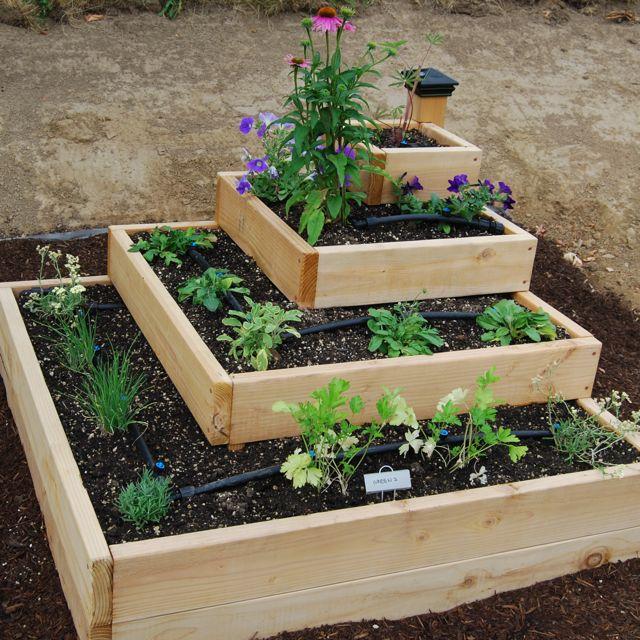 Raised-Veggie-Garden-Designs