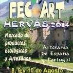 FECOART HERVÁS 2014. FERIA DE PRODUCTOS ECOLÓGICOS Y ARTESANOS