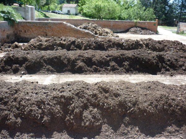 Planta de compostaje de la escuela de Agrónomos de Madrid