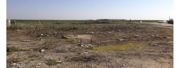 Ubicación escogida para plantar el huerto