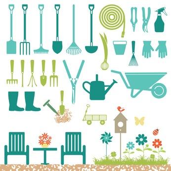 kit de huerto urbano: las herramientas