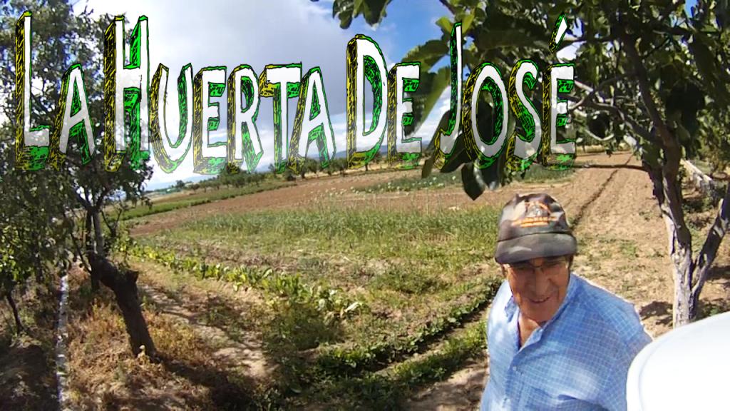 Perspectiva de la huerta tradicional de José