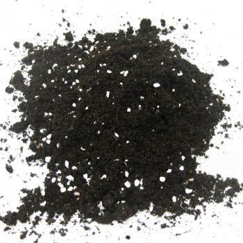 Sustrato de mezcla de turba y perlita (Fuente: www.ecocelta.com)