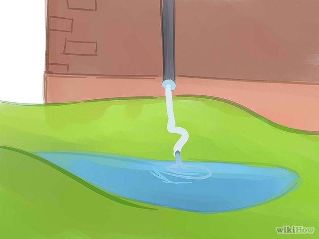 Para situar el huerto de lluvia conviene buscar lugares donde se acumule el agua procedente de pendientes o superficies impermeables (Fuente: www.es.wikihow.com/crear-un-jardín-de-lluvia)
