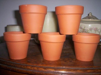Macetas de terracota (Fuente: www.articulo.mercado.libre.com.ar)