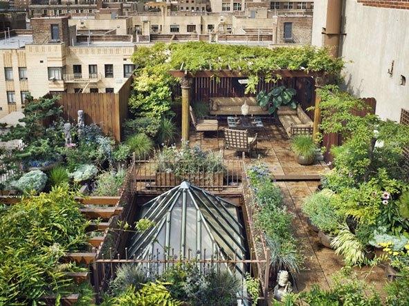Lo primero que tienes que pensar es dónde vas a colocar el huerto... (Fuente: www.spacegarden.eu)