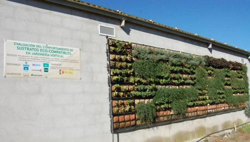 Cubierta vegetal experimental. Finca el Encín. Fuente: chil.me/foroagrario-ag-urbana-integral