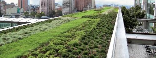 Ejemplo de techo verde (Green Roof) Fuente: zinco-cubiertas-ecologicas.es
