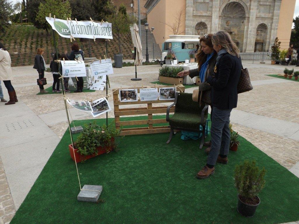Stand de La Comunidad Verde