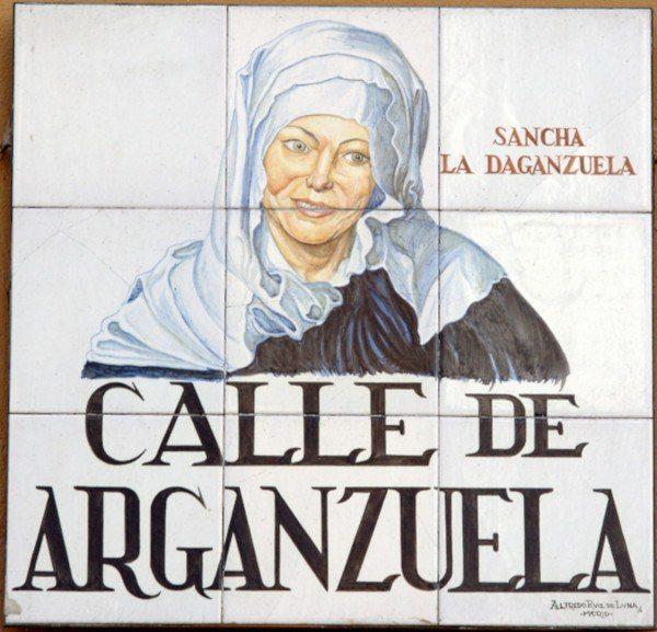 """Sancha, """"la Danganzuela"""" origen del nombre del distrito y del huerto """"La Sanchita"""" (Fuente: www.lasanchita.org)"""