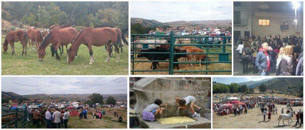 Feria de Octubre en Navarrevisca - 2004 y 2015