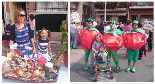 Feria del hortelano en Navarrevisca