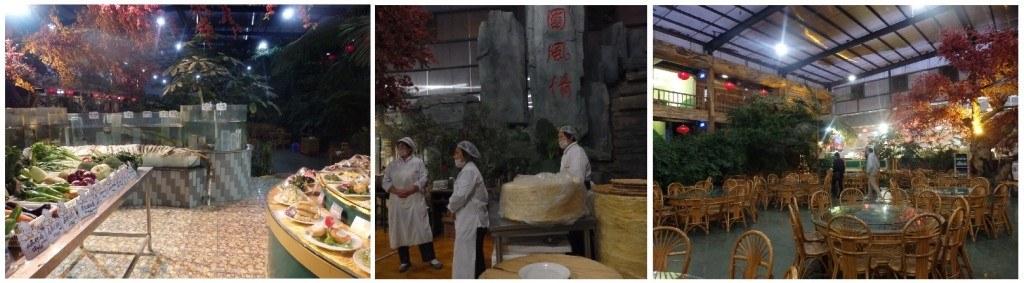 Restaurante ecológico en Taian (China)