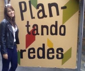 """Exposición """"Plantanto Redes"""" en el huerto de El Retiro de Madrid"""
