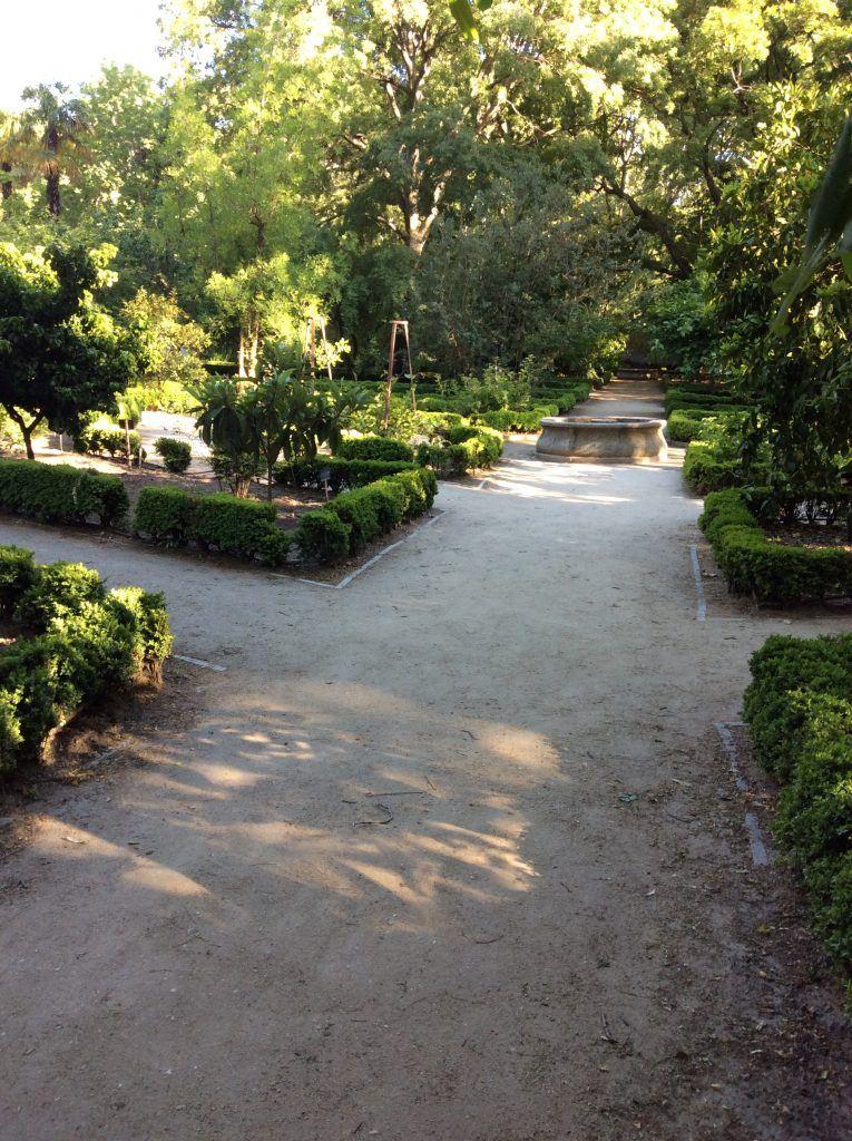 Huerto jardín botanico