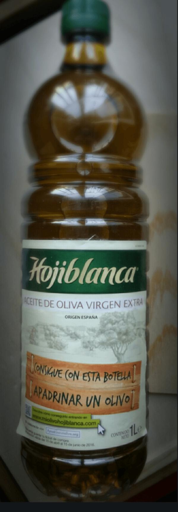 botella aceite hojiblanca