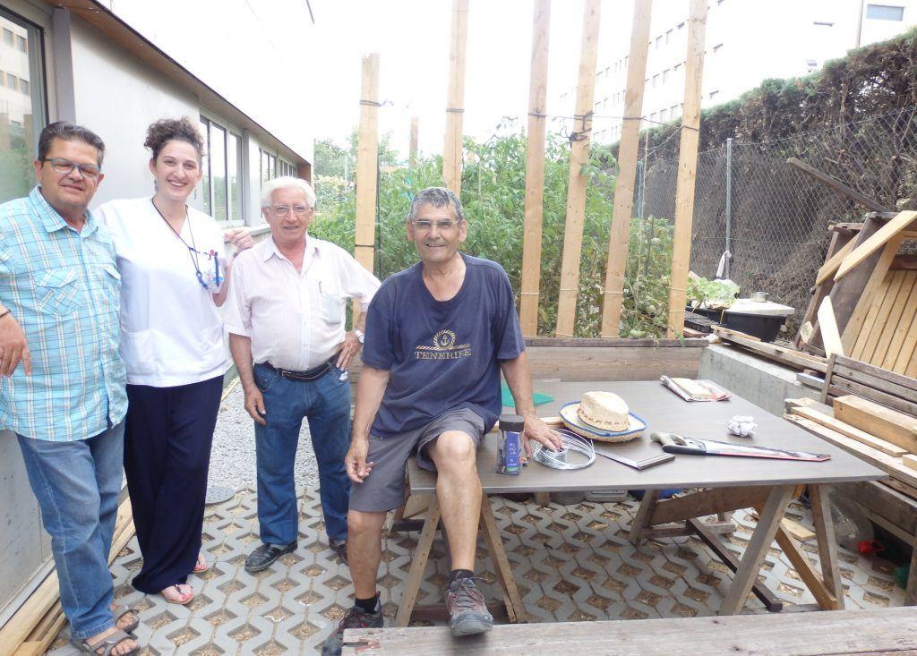 huertos urbanos en madrid en Centro de salud